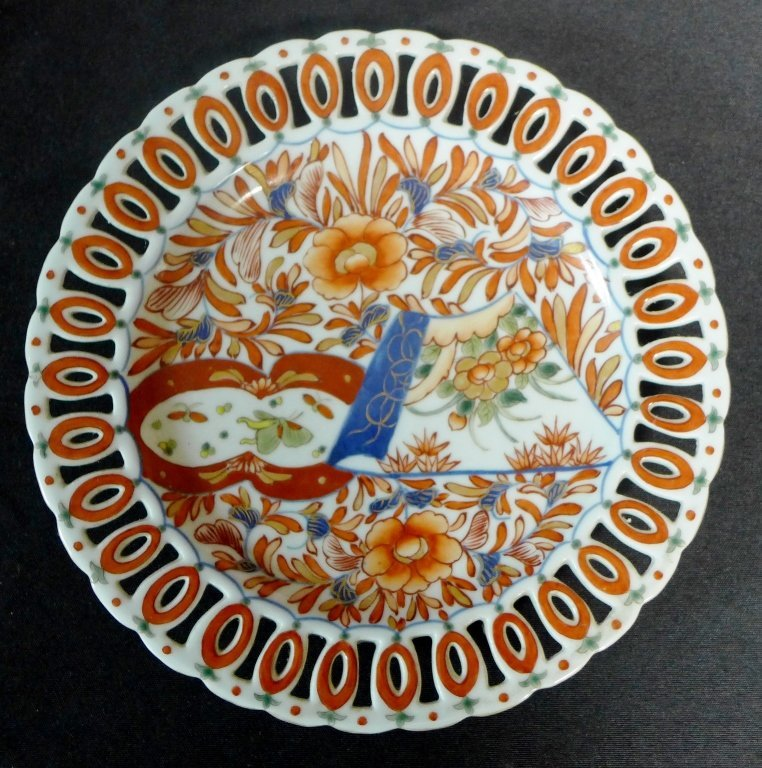 Imari Porcelain Plate Group - 2