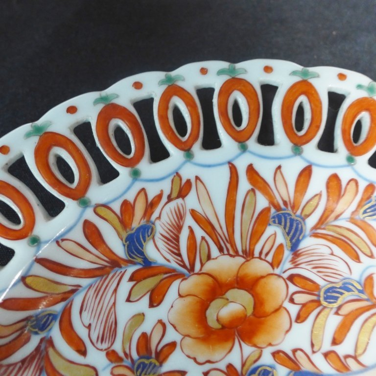 Imari Porcelain Plate Group - 4