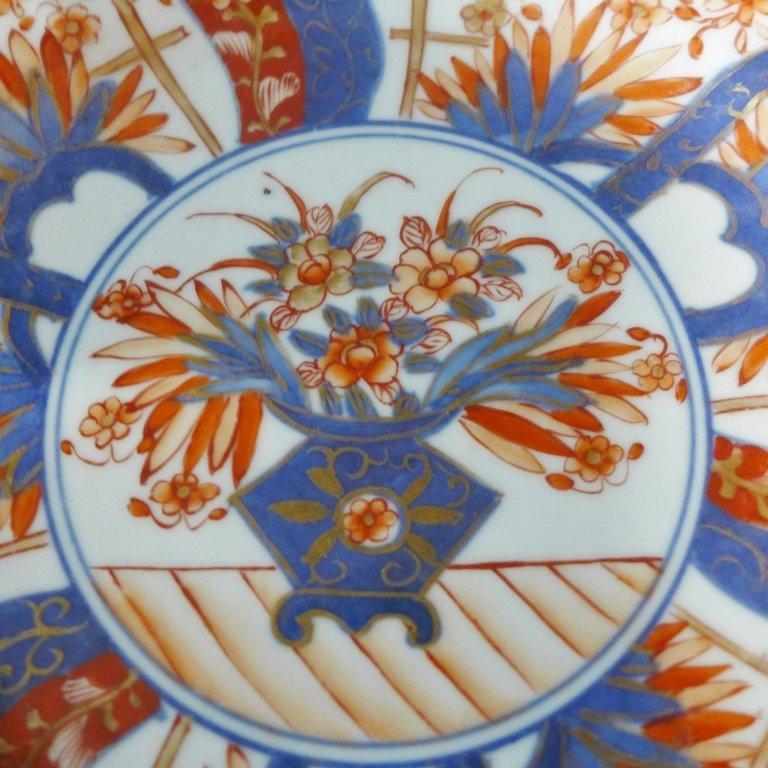 Imari Porcelain Plate Group - 8