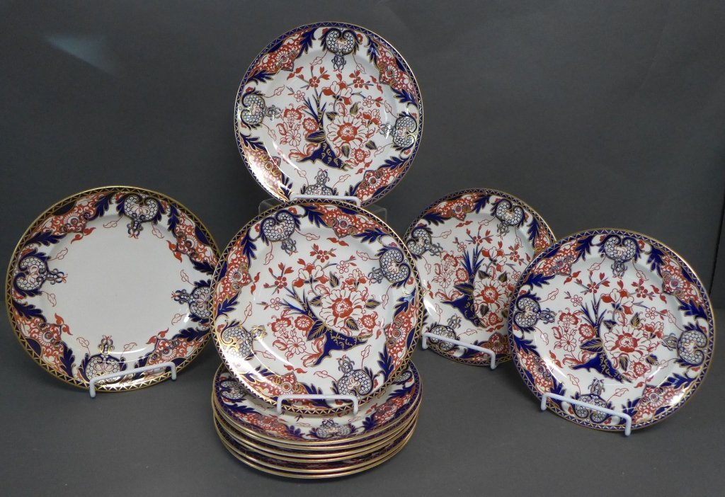 Royal Crown Derby Japan Pattern Plates
