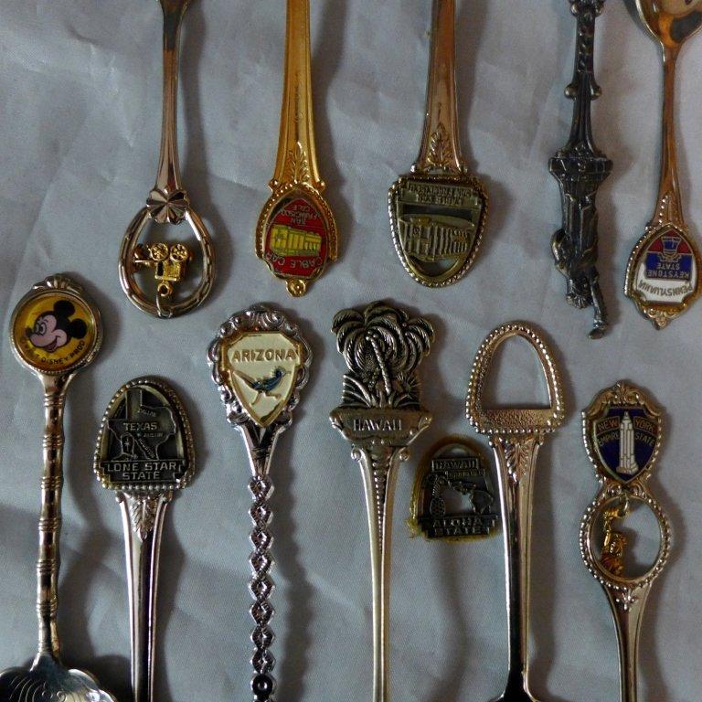Collectors Souvenir Spoons - 5