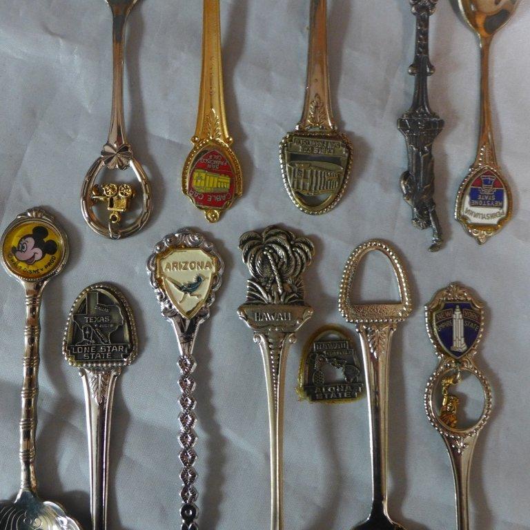 Collectors Souvenir Spoons - 6
