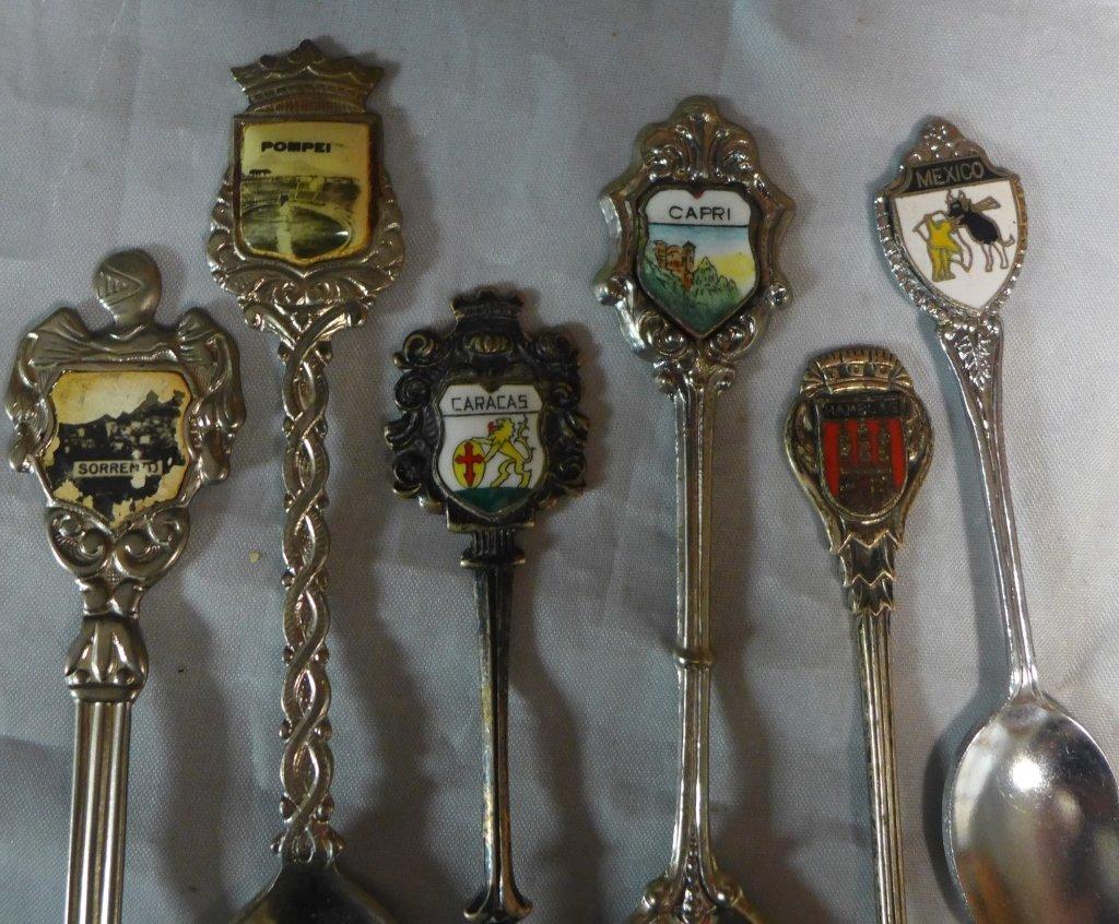 Collectors Souvenir Spoons - 8
