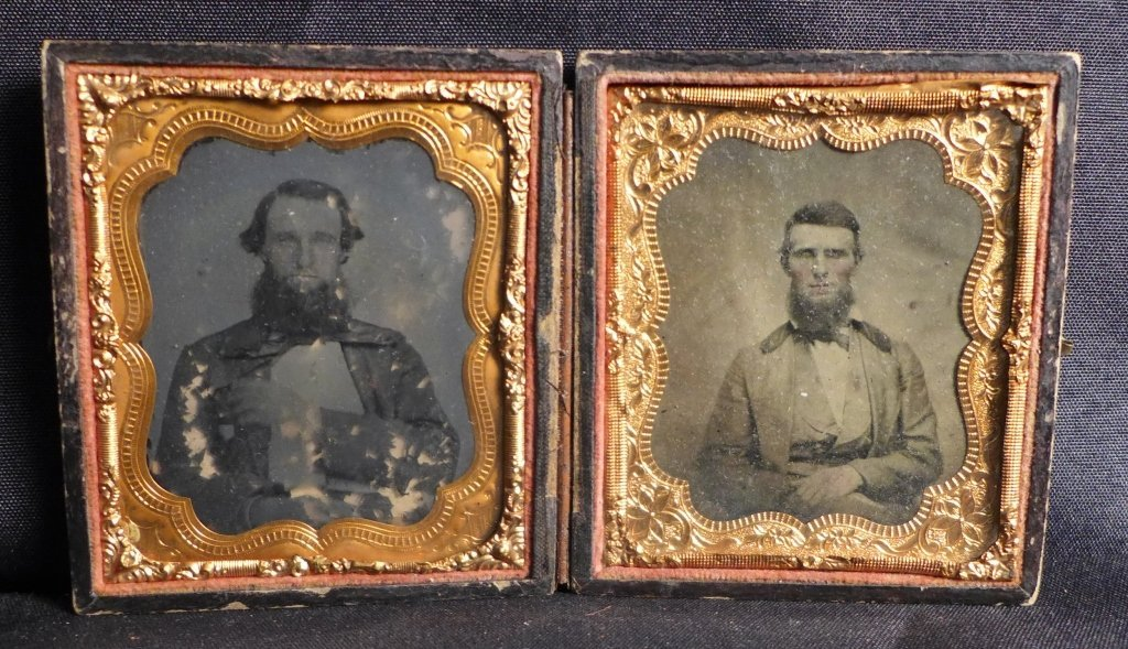 Cased Victorian Ambrotypes / Daguerreotypes of Men - 3