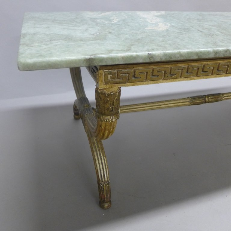 Regency Marble Top Cocktail Table - 5