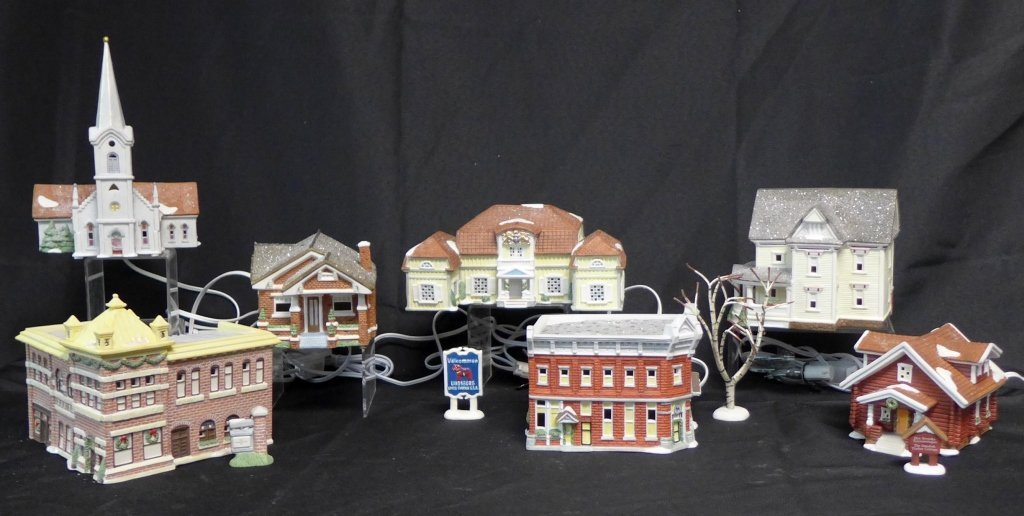 Christmas in Lindsborg Collectible Village