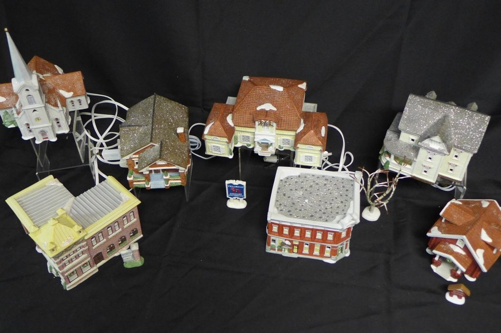 Christmas in Lindsborg Collectible Village - 2
