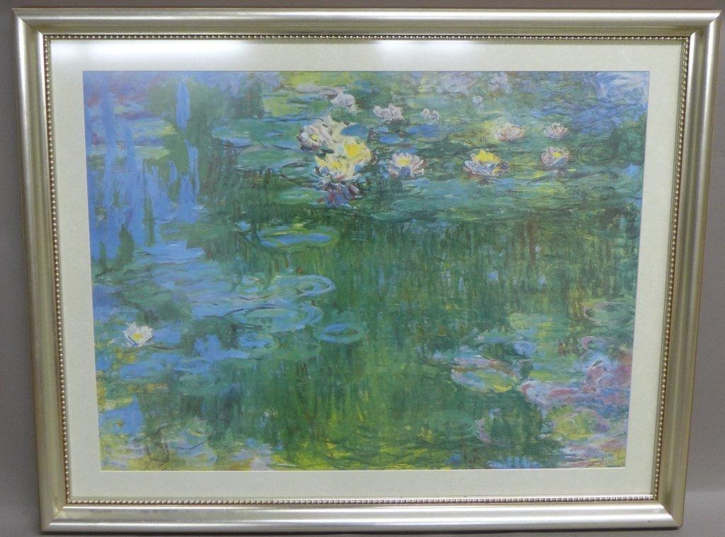 Claude Monet Framed Print of Water Lillies