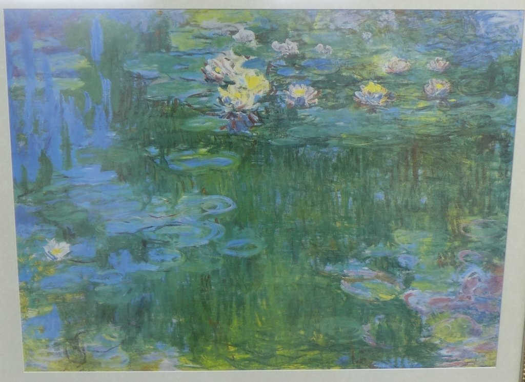 Claude Monet Framed Print of Water Lillies - 2