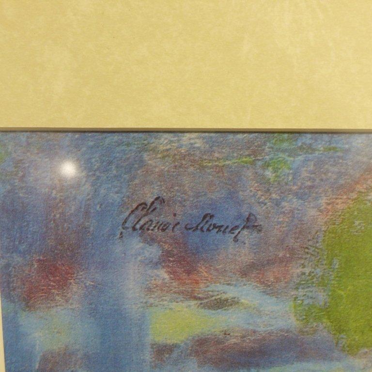 Claude Monet Framed Print of Water Lillies - 4
