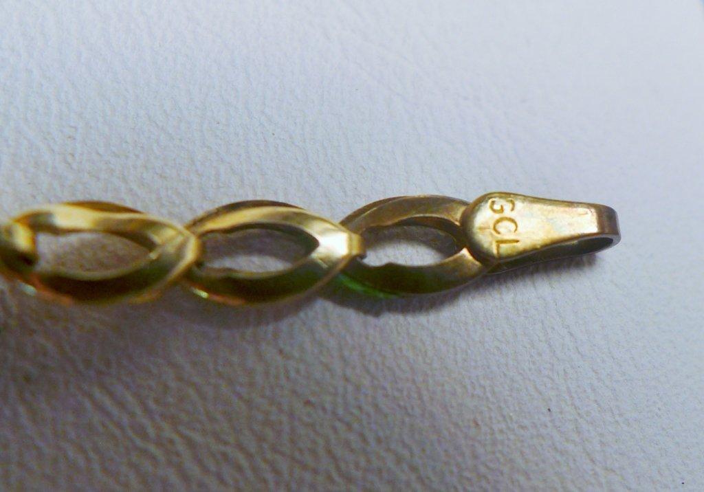Gold & Ruby Designer Tennis Bracelet - 6