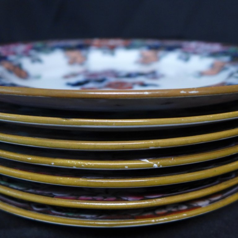Wedgwood Pearlware Dinner Plates - 10