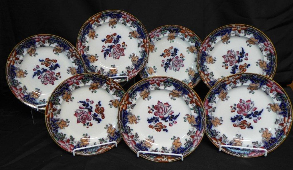 Wedgwood Pearlware Dinner Plates - 2