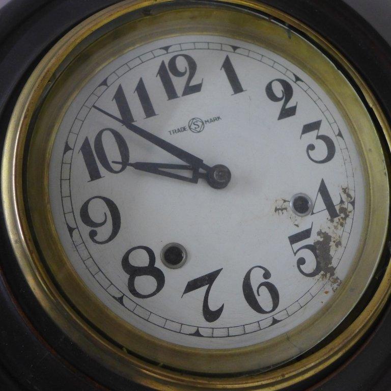 Antique Regulator Wall Clock - 6
