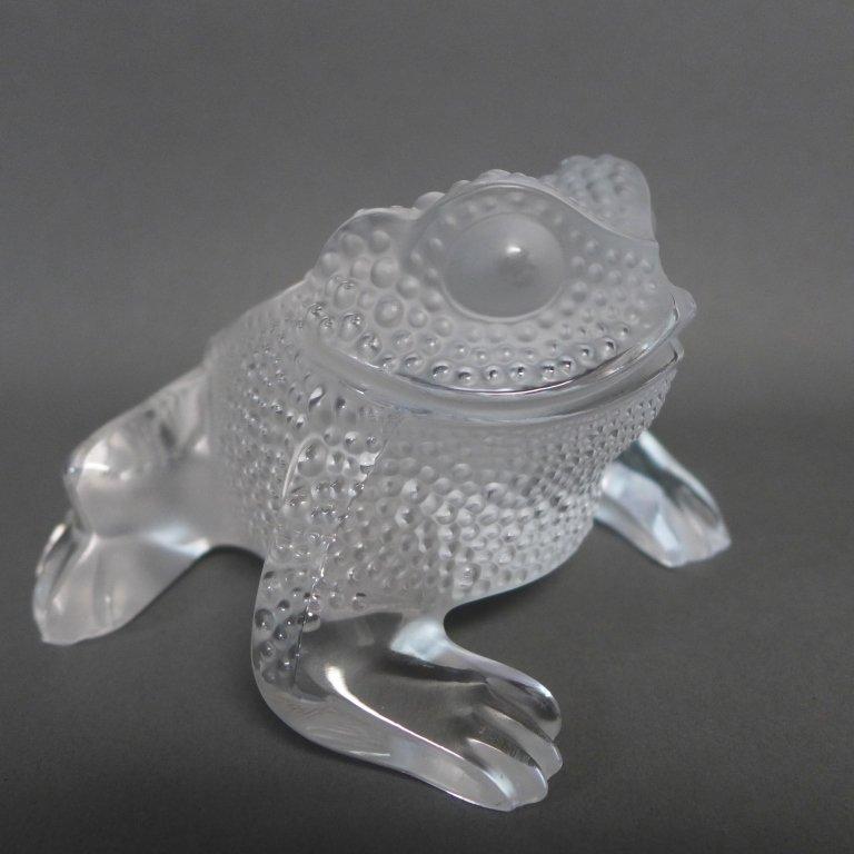 Lalique Gregoire Frog