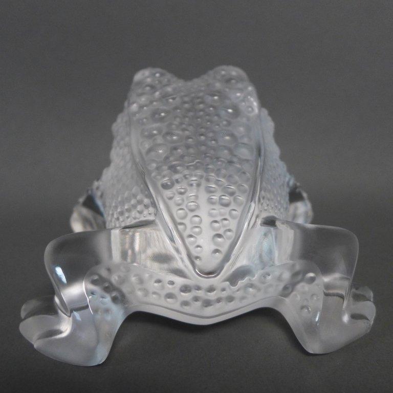 Lalique Gregoire Frog - 4
