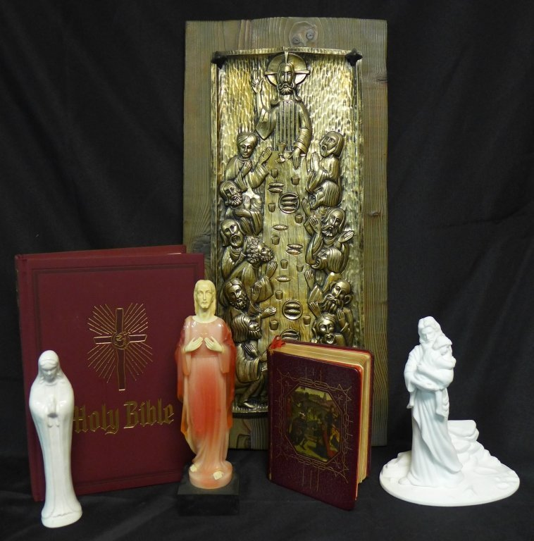 Collection of Religious Items
