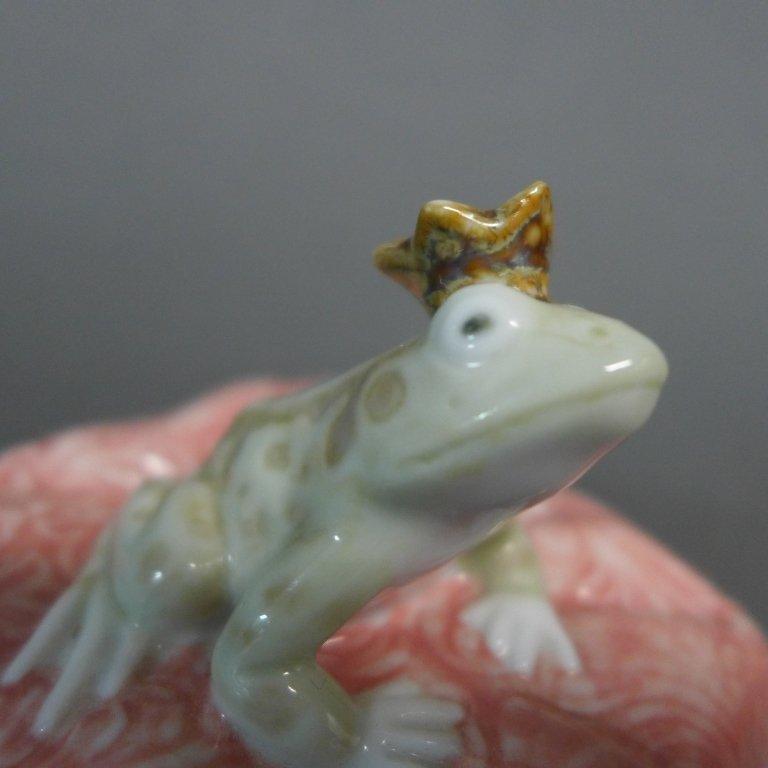 Lladro Frog Prince Porcelain Figurine - 5