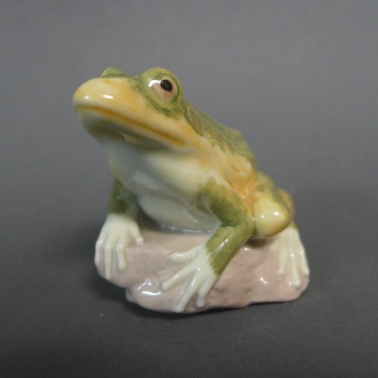 Lladro Frog Figurine - 5