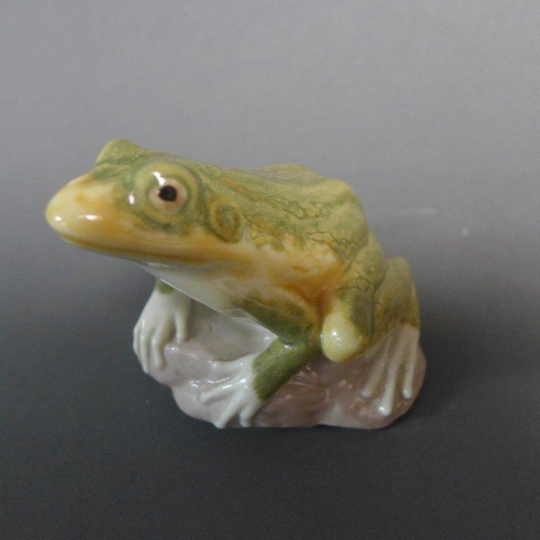 Lladro Frog Figurine - 6
