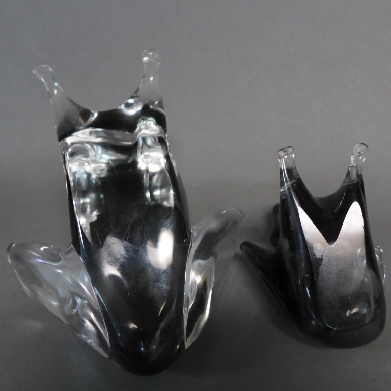 Zanetti Murano Art Glass Frog Grouping - 9
