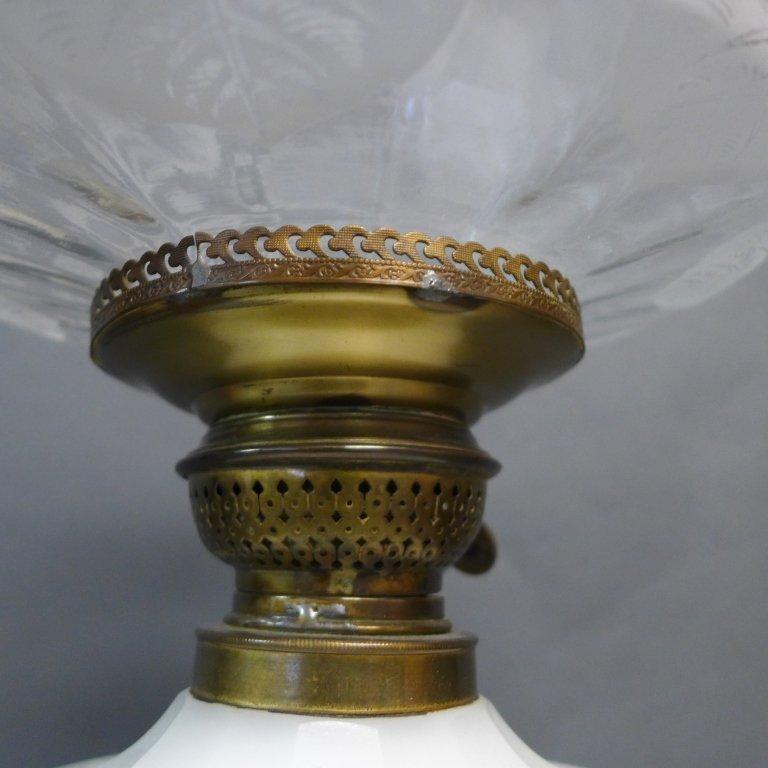 Gebruder Brunner Wien Austria Oil Lamp - 10