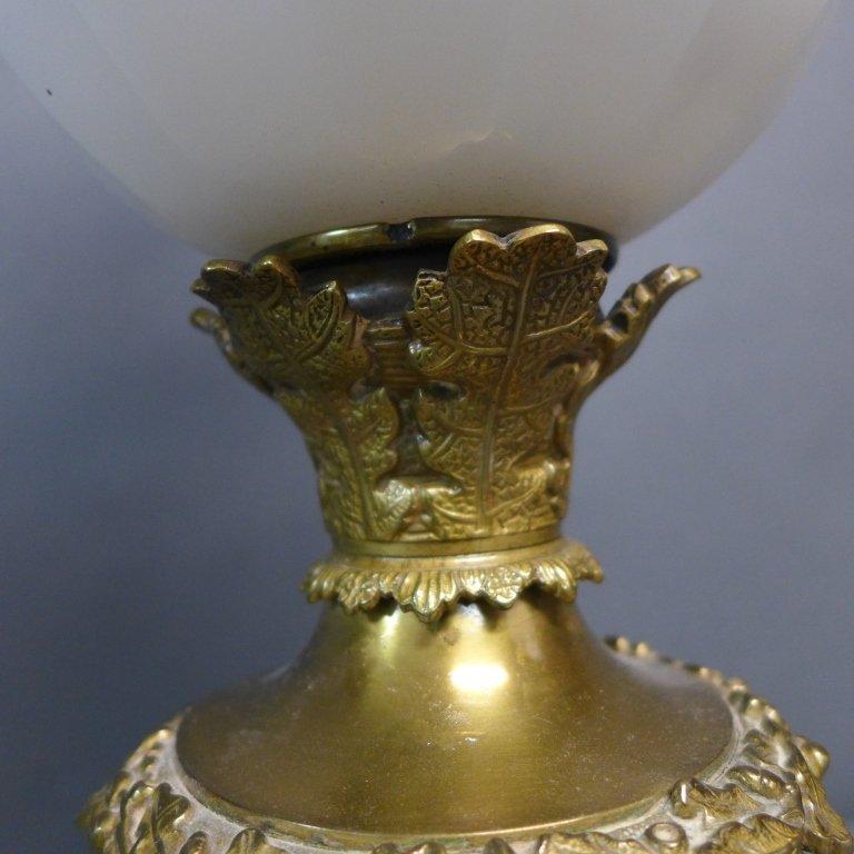 Gebruder Brunner Wien Austria Oil Lamp - 3
