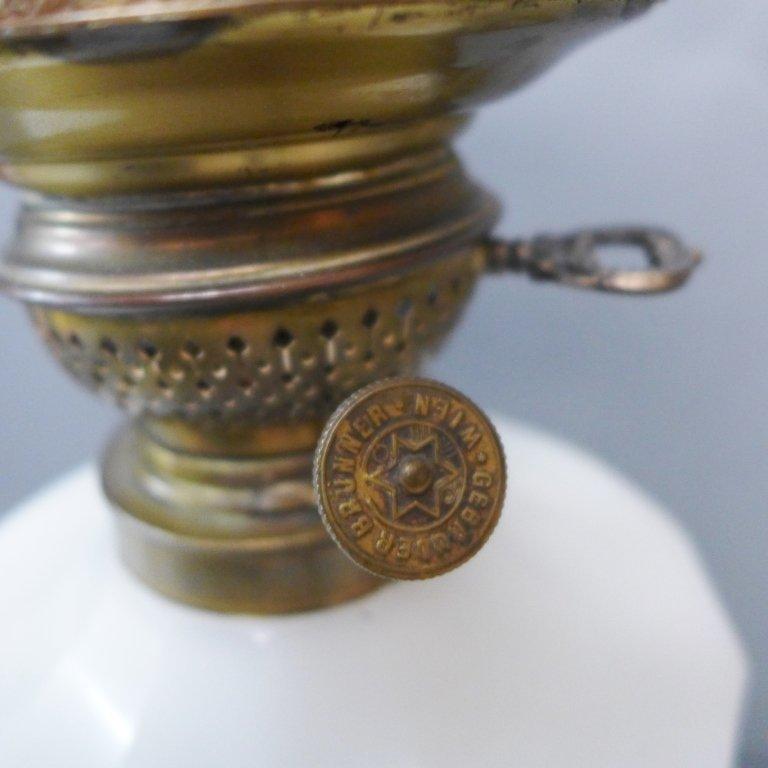 Gebruder Brunner Wien Austria Oil Lamp - 5