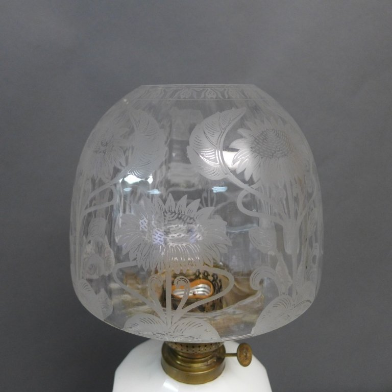 Gebruder Brunner Wien Austria Oil Lamp - 6