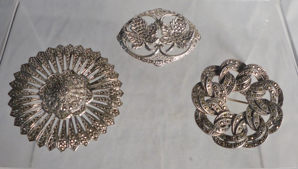 Silver Marcasite Jewelry Assortment - 4