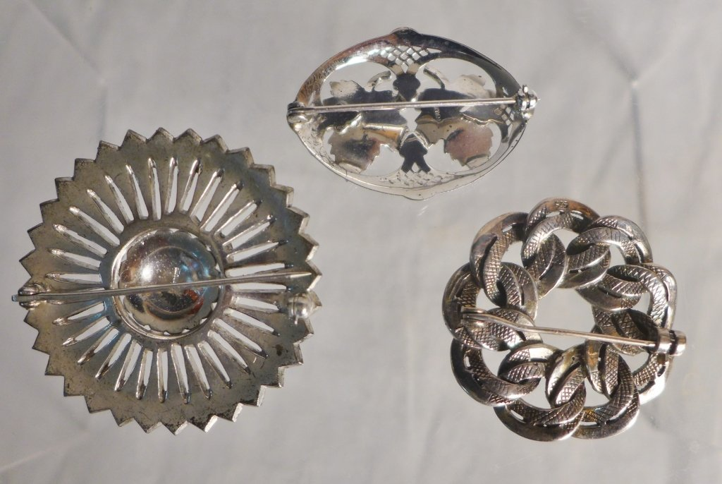 Silver Marcasite Jewelry Assortment - 5