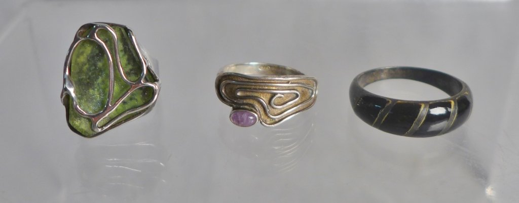 Sterling Silver Southwest Jewelry Assortment - 4