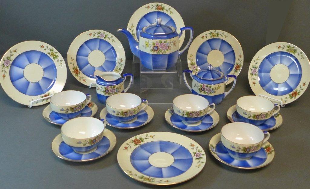 Noritake 'M' Tea Service w/ Dessert Plates
