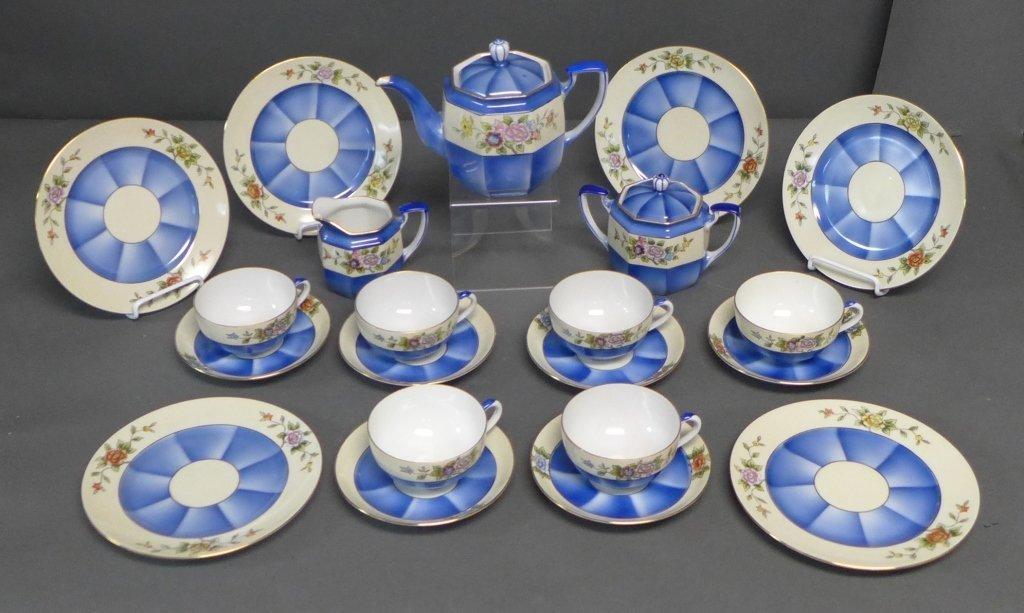Noritake 'M' Tea Service w/ Dessert Plates - 2