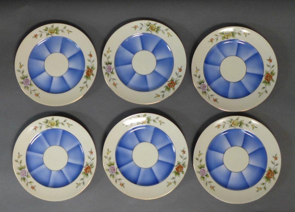 Noritake 'M' Tea Service w/ Dessert Plates - 4
