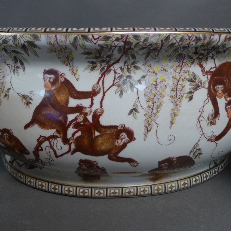 Figural Porcelain Grouping - 2