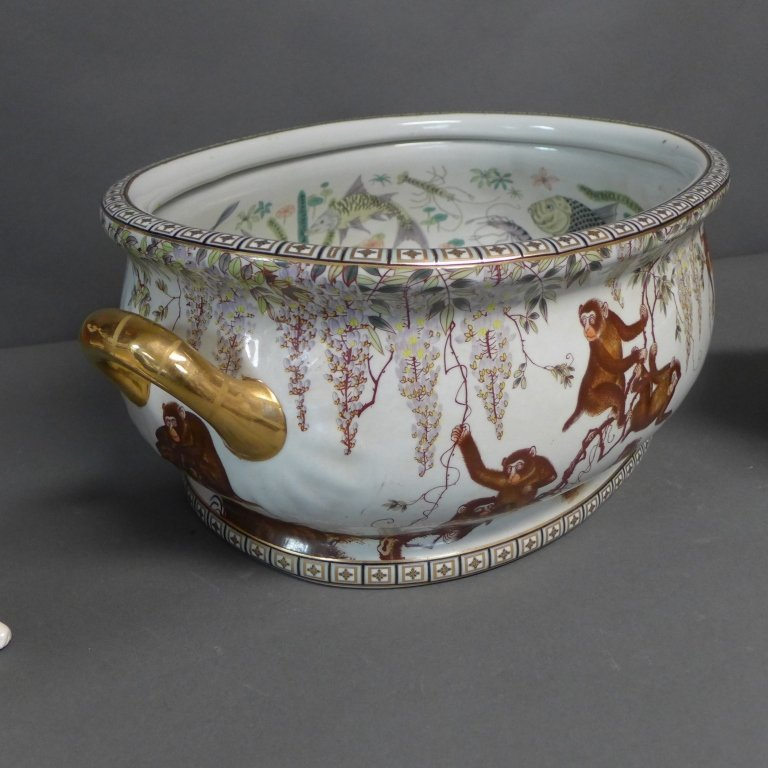 Figural Porcelain Grouping - 3