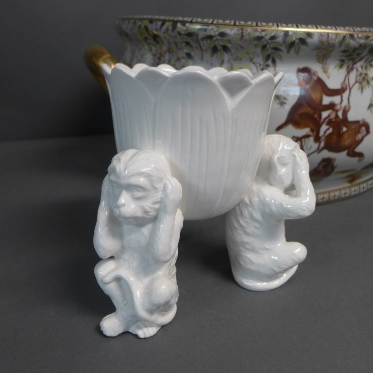 Figural Porcelain Grouping - 6