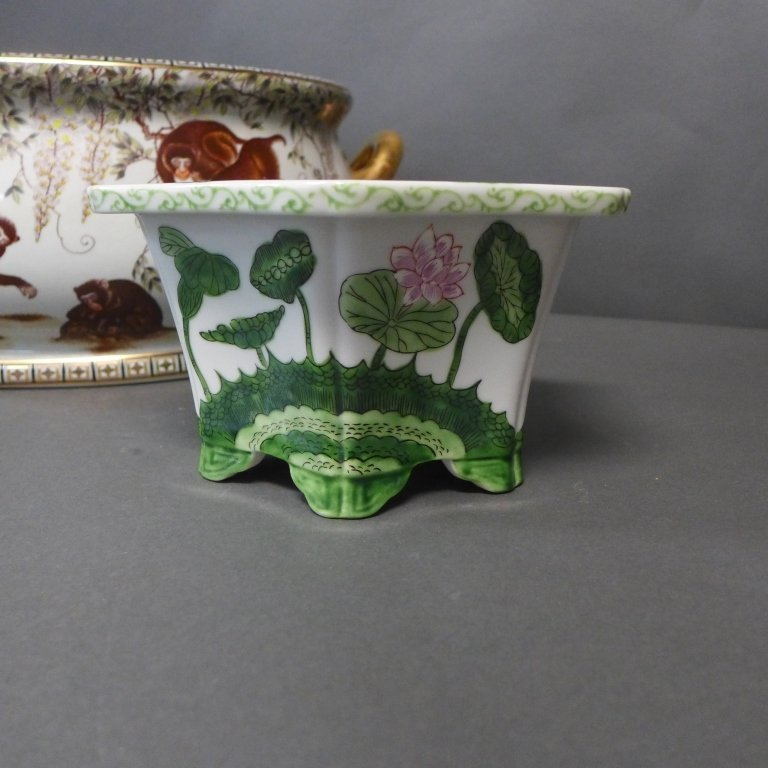 Figural Porcelain Grouping - 9