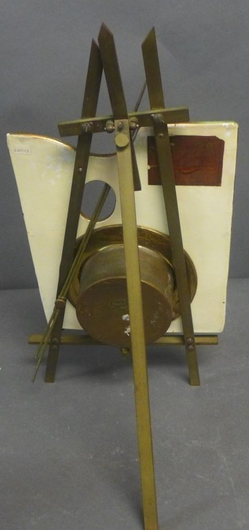 Antique 8 Day Artist's Easel Form Timepiece - 7