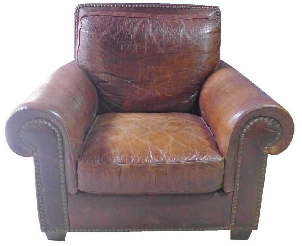 60a24579 Leather Club Sofa Chair