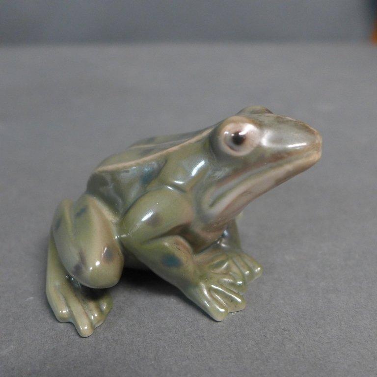 Danish Bing Grondahl Porcelain Frog