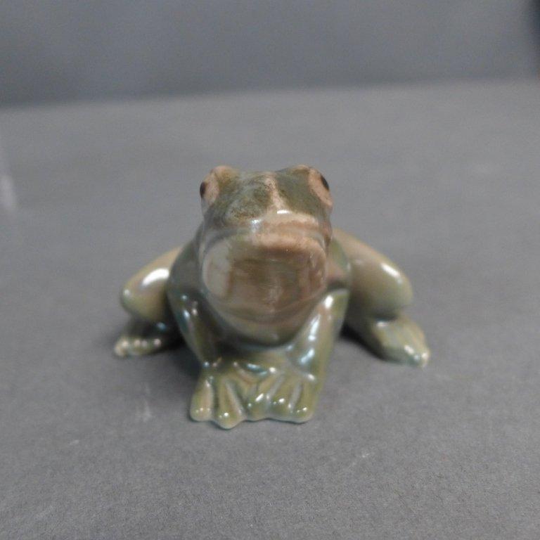 Danish Bing Grondahl Porcelain Frog - 2