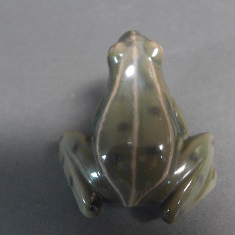 Danish Bing Grondahl Porcelain Frog - 4