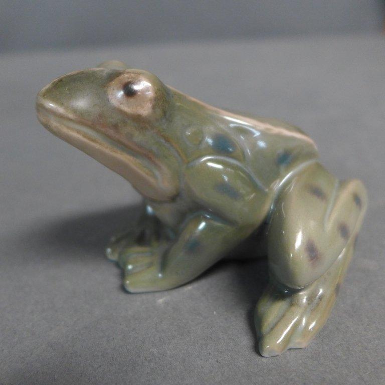 Danish Bing Grondahl Porcelain Frog - 7