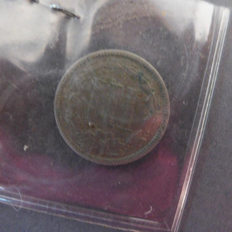 Assortment of 3 Cent & 5 Cent Coins - 8