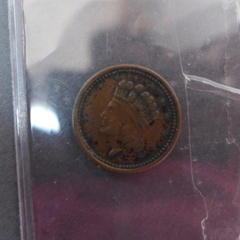Assortment of 3 Cent & 5 Cent Coins - 9