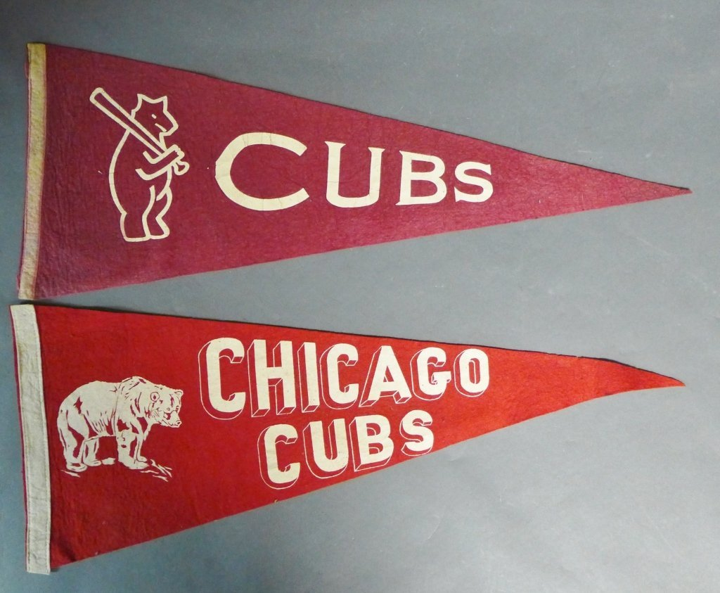 Chicago Cubs Pennant Flags - 2