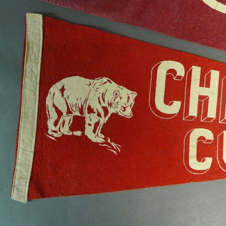 Chicago Cubs Pennant Flags - 3