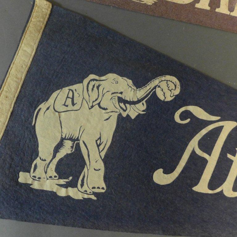 Two Rare Baseball Pennant Flags - 2